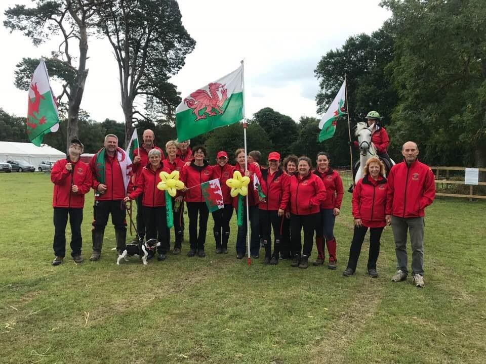 Swansea Building Society sponsors the Welsh Equine Endurance Team